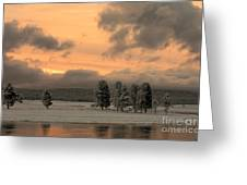 Late Spring Storm In Yellowstone Greeting Card