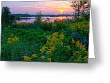 Late Summer Lake Greeting Card