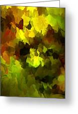 Late Summer Nature Abstract Greeting Card
