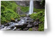 Latourell Falls - Columbia River Gorge Greeting Card
