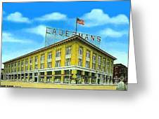 Lauerman's Department Store In Marinette Wi In 1910 Greeting Card