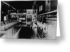Laundromat Greeting Card