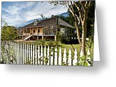 Laura Creole Plantation Greeting Card