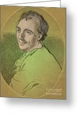 Laurence Eusden, English Poet Laureate Greeting Card