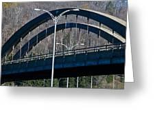 Laurentian Bridge Greeting Card