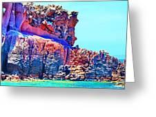 Lava Island Greeting Card