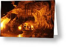 Lava Tube Greeting Card