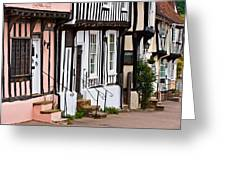 Lavenham Street Greeting Card
