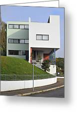 Le Corbusier Building Stuttgart Weissenhof Greeting Card