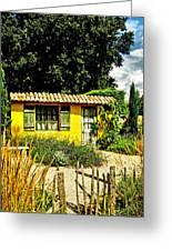 Le Jardin De Vincent Greeting Card by Chris Thaxter