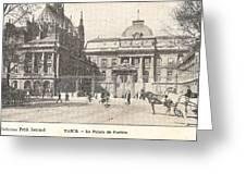 Le Palais De Justice Greeting Card