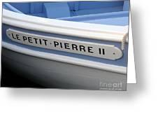 Le Petit Pierre II Greeting Card