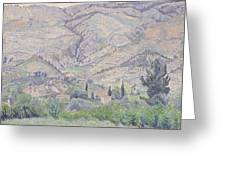 Le Ragas Near Toulon Greeting Card by Camille Pissarro