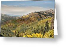 Lead King Basin Road 2 Greeting Card