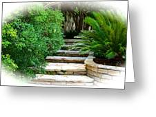Lead Me To Your Garden Greeting Card