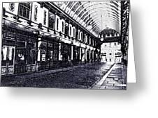 Leadenhall Market Greeting Card