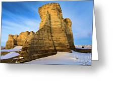 Learn Tower Of Monument Rocks Greeting Card