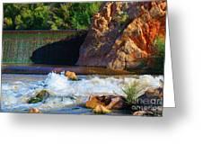 Leasburg Dam New Mexico Greeting Card