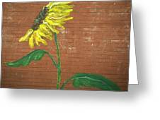 Leavenworth Sunflower  Greeting Card