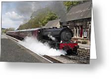 Leaving Platform 1 Greeting Card
