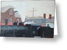 Leaving The Station Greeting Card