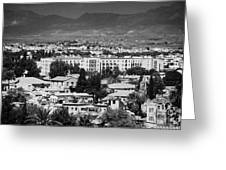 Ledra Palace Hotel Border Crossing Point In Nicosia Lefkosia Republic Of Cyprus Greeting Card