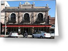 Ledson Hotel - Downtown Sonoma California - 5d19268 Greeting Card