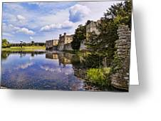 Leeds Castle Kent England Greeting Card