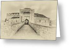 Leeds Castle Nostalgic 3 Greeting Card