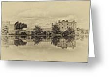 Leeds Castle Nostalgic Greeting Card