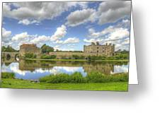 Leeds Castle Reflected Greeting Card