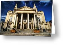 Leeds Civic Hall Greeting Card