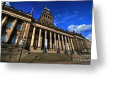 Leeds Town Hall Greeting Card