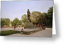Lenin In Hanoi Greeting Card