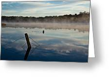 Lenthalls Dam 02 Greeting Card by David Barringhaus