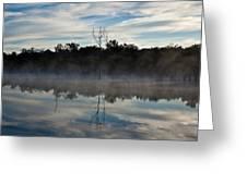 Lenthalls Dam 10 Greeting Card by David Barringhaus
