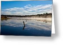 Lenthalls Dam 16 Greeting Card by David Barringhaus