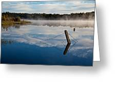 Lenthalls Dam 17 Greeting Card by David Barringhaus