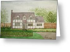 Leominster Cottage Greeting Card