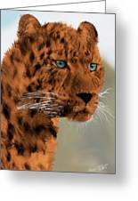 Leopard - Featured In The Group Wildlife Greeting Card