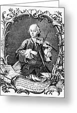 Leopold Mozart (1719-1787) Greeting Card