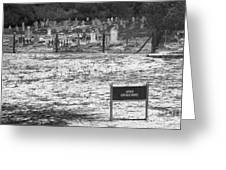Leper Graveyard On Robben Island Greeting Card