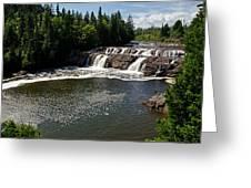 Lepreau Falls Greeting Card