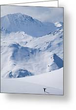 Les Arcs, France Greeting Card