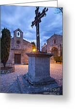 Les Baux Iron Cross Greeting Card
