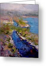 Les Calanques In Morning Greeting Card