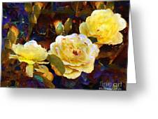 Les Roses Sauvages Greeting Card