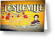 Leslieville Toronto Greeting Card