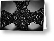 Let Mercy Reign Bw Greeting Card