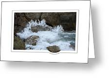 Let The Rivers Clap Their Hands Greeting Card